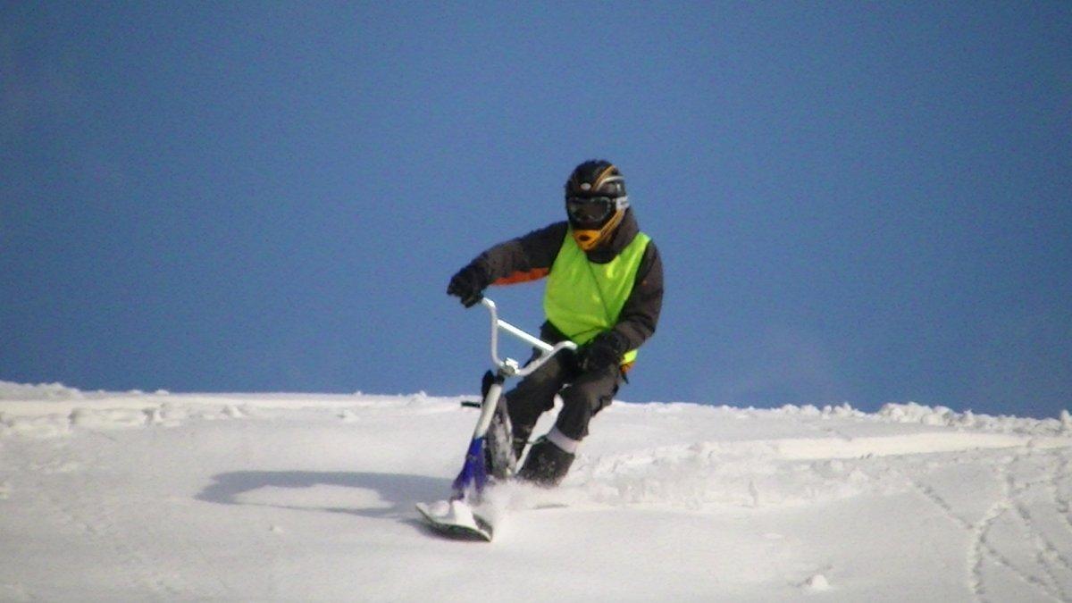 SNOWSCOOTライダー!